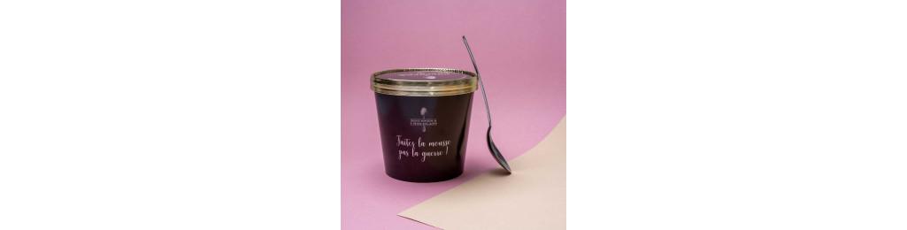 Mousse au Chocolat Dark Milk. Pot de 600gr net