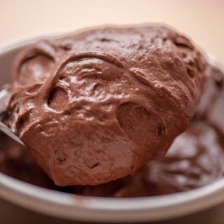 Mousse au Chocolat Dark Milk. Détail