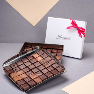 Écrin 84 chocolats - Exemple de présentation