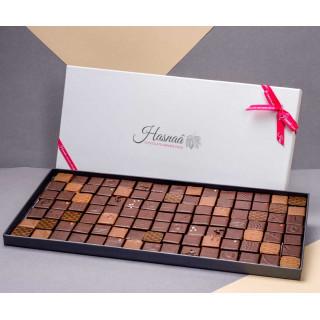Ecrin 105 chocolats (500gr) - exemple de présentation