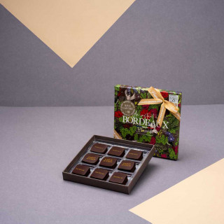 """Écrin """"Un Instant à Bordeaux"""" RIVE GAUCHE - 9 chocolats"""