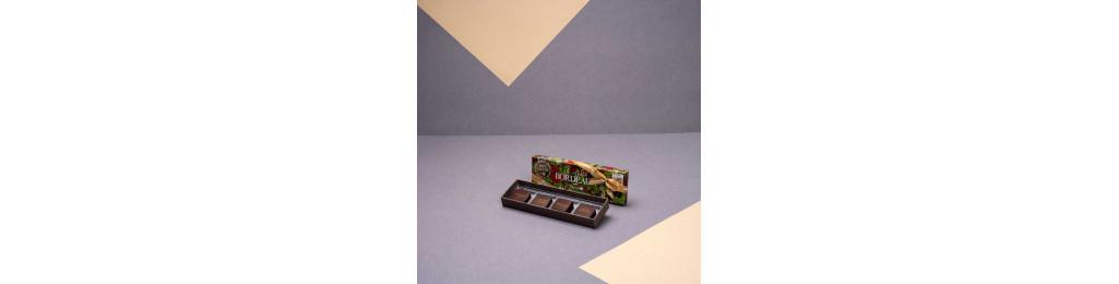 """Écrin """"Un Instant à Bordeaux"""" - 4 chocolats"""