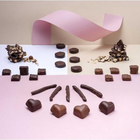 Notre gamme de gourmandises Hasnaâ Chocolats