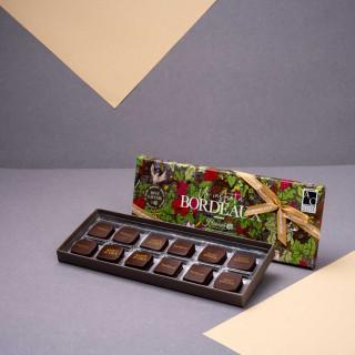 """Écrin """"Un Instant à Bordeaux"""" - 12 chocolats"""