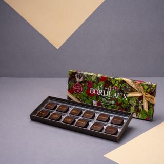 """Écrin """"Un Instant à Bordeaux"""" RIVE DROITE - 12 chocolats"""